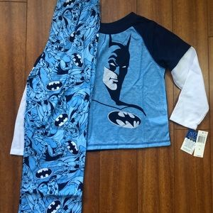 New size 8 Batman Pajama set Sleepwear